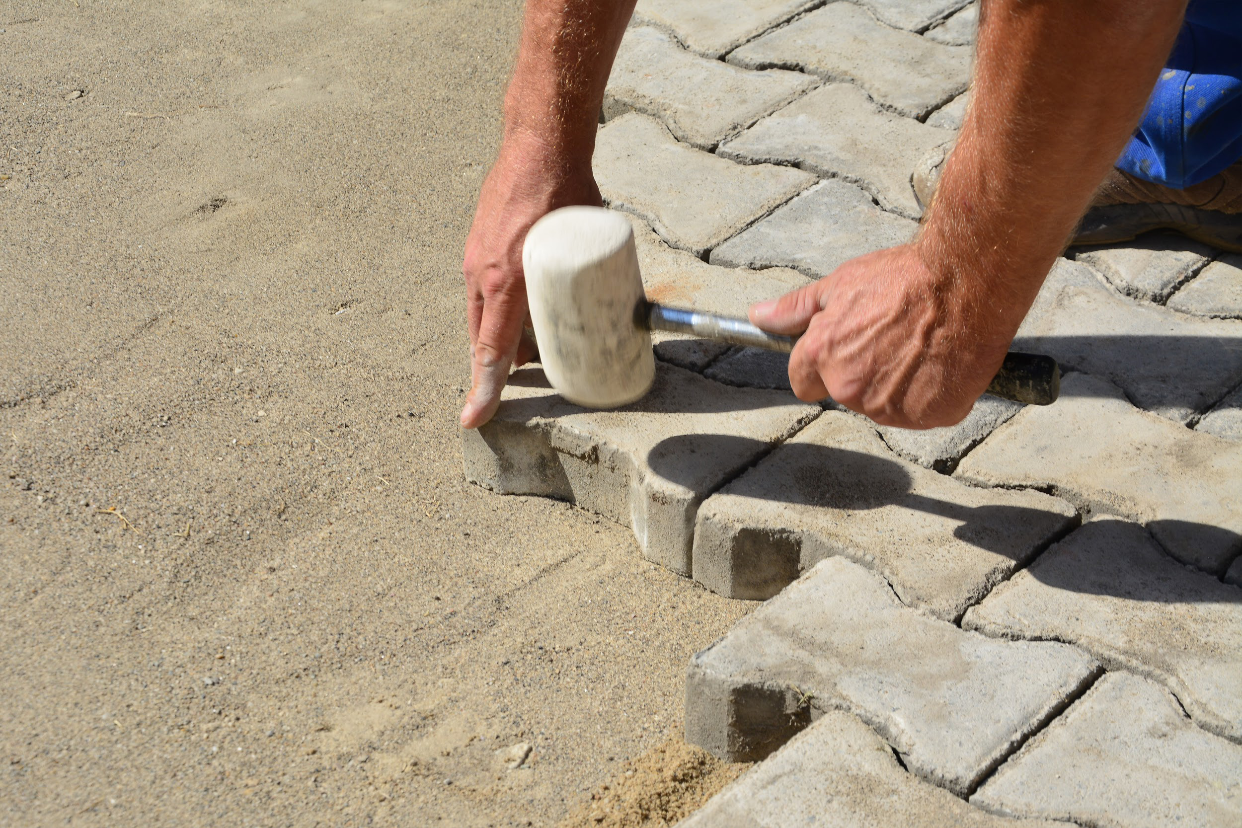Interlock Stones installation