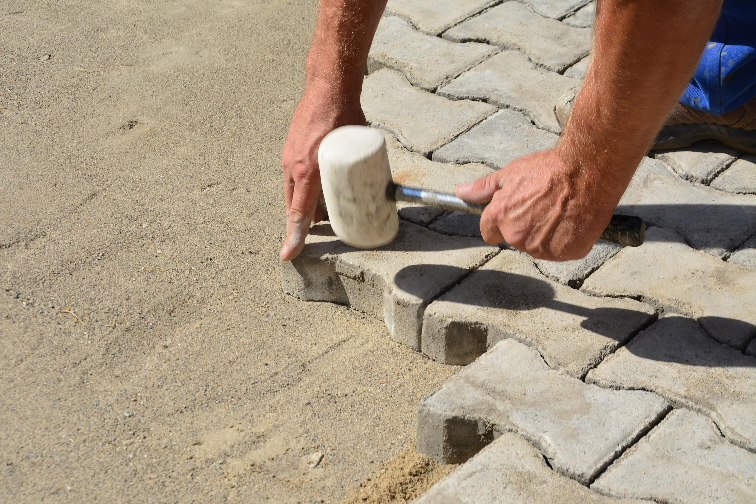 Interlock Stones installation