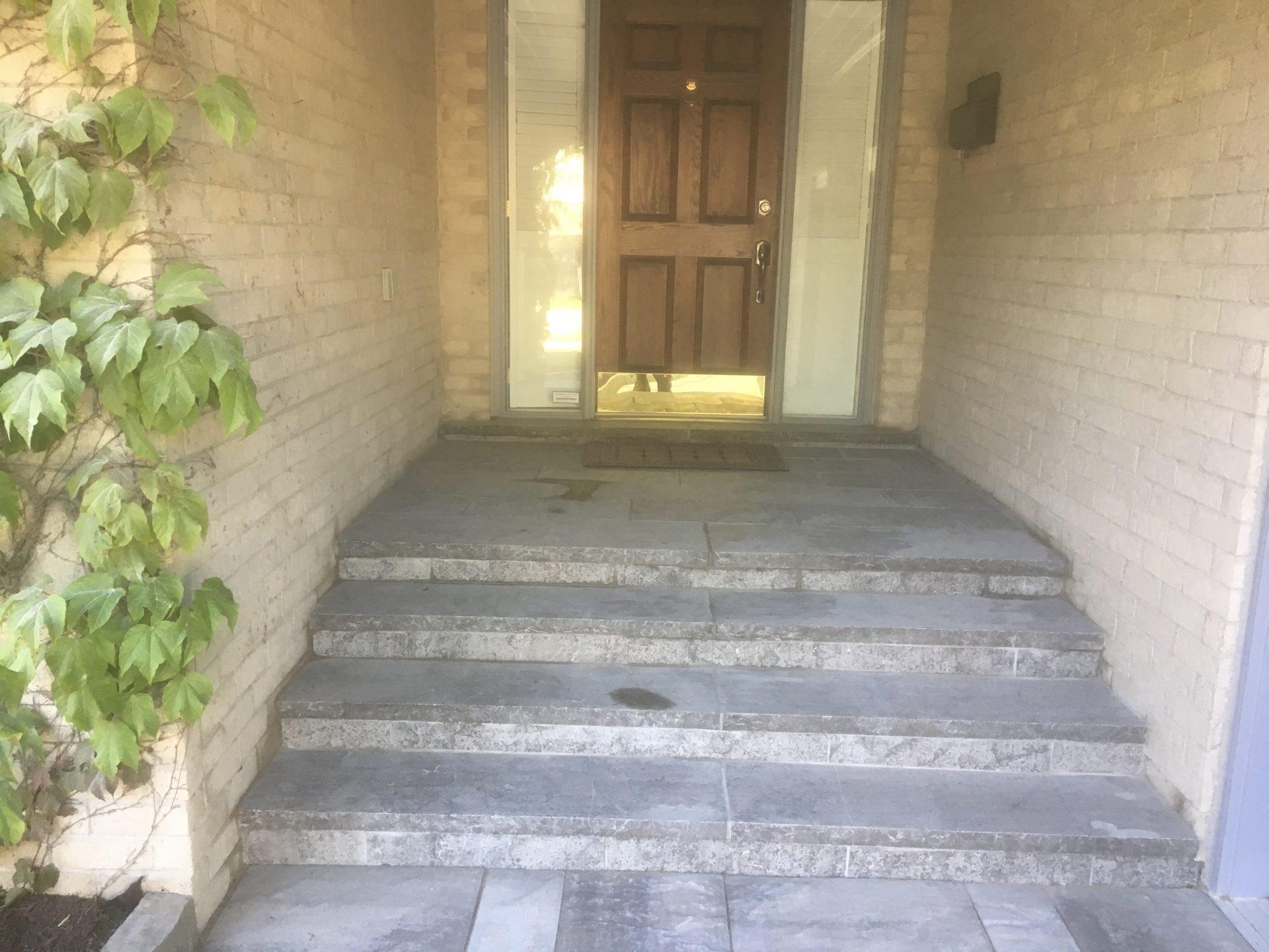 Natural Stone Entrance Steps