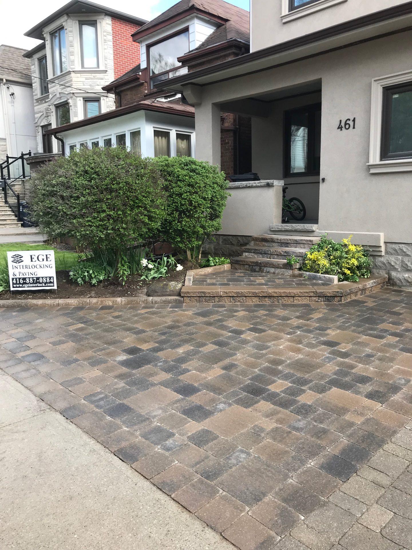 Interlock Driveway Repairs in Toronto